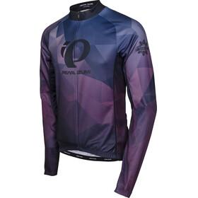 PEARL iZUMi LTD Långärmad cykeltröja Herr violett/blå